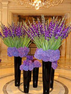 Elegant Flower Displays | Four Seasons Hotel George V | Paris - working with…