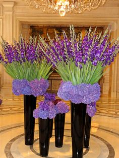 Elegant Flower Displays | Four Seasons Hotel George V | Paris - working with…