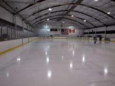 The old rink . Picture by Peter Cook.