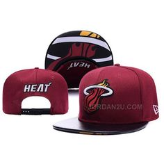 http://www.jordan2u.com/new-era-nba-miami-heat-leather-red-snapback-cap.html Only$25.00 NEW ERA #NBA MIAMI #HEAT LEATHER RED SNAPBACK CAP Free Shipping!
