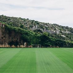 This is beautiful. Monaco's current training ground.