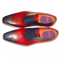 Magnanni Seleccion Collection - 15492 - Navy And Red   PelleLine.com