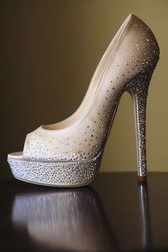 Jimmy Choo shoes - heels maybe 15 cm?