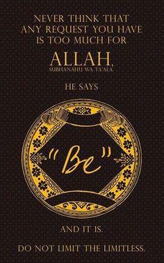 Ya Allah! #Islam