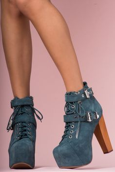 225c8c2c7e76 JEFFREY CAMPBELL - LITA BUCKLE  Extra large hardware lends some industrial  edge to the Lita!!! Shoes ...