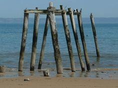 Old jetty at Flynns Beach, Phillip Island