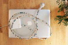 customiser cable ordinateur computer masking tape