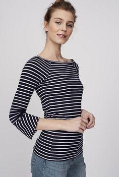 #Long Tall Sally - #Long Tall Sally Tall Scoop Neck Fluted Sleeve Tee at Long Tall Sally - AdoreWe.com