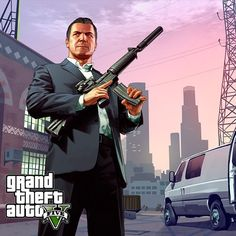 Grand Theft Auto V Michael Game Gta V, Gta 5 Games, Gta Vi, Gta 5 Mobile, Gta Funny, Grand Theft Auto Series, Star Wars Wallpaper, Rockstar Games, San Andreas