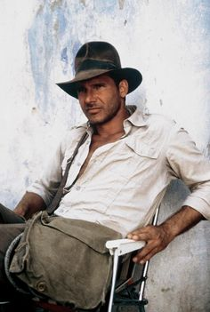 Harrison Ford. Now this was a man, very few actors today in Hollywood can compare to him. ( and not just because he's Indiana Jones AND Han Solo. Lol) he had good (manly) looks and charisma. He will forever be my favorite. :)