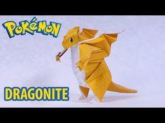 POKEMON GO - Origami Dragonite Tutorial (Henry Phạm) - YouTube