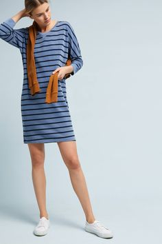 Shop the Stateside Striped Long-Sleeved Dress and more Anthropologie at  Anthropologie today. Read bb226867ce040