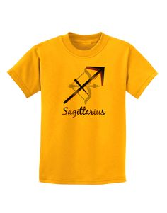 TooLoud Sagittarius Symbol Childrens T-Shirt