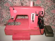 pink belvedere sewing machine - Google Search