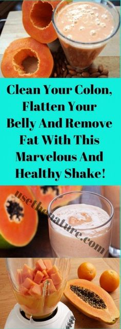 Clean Your Colon, Flatten Your Belly And Remove Fat With This Marvelous And Healthy Shake ! - Healthy4U