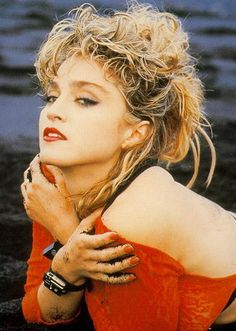 The pictures in the 1986 official Madonna calendar.