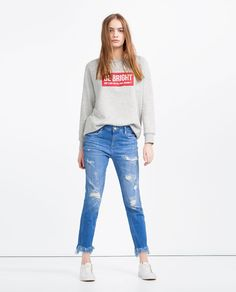SLOUCHY JEANS-TROUSERS-SALE-WOMAN | ZARA United States