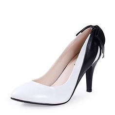 Women's Shoes Pointed Toe Stiletto Heel Pumps Shoes More Colors available – USD $ 27.99