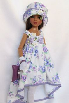 """Resold $212.50 7/26/16  The Lavender Blues...for 16"""" Ellowyne etc. made by ssdesigns, Originally sold in 2014 for $51.99, Listed for Resale 7/26/16, RESOLD via eBay 7/26/16 $212.50"""