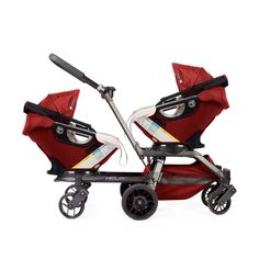 Orbit Babys Convertible Double Stroller Stroll With All Baby Seats Sold Separately