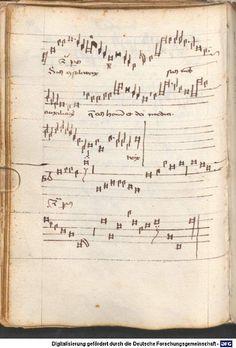 Schedel, Hartmann: Liederbuch des Hartmann Schedel Leipzig und Nürnberg, vor 1461 bis nach 1467 Cgm 810 Folio NP