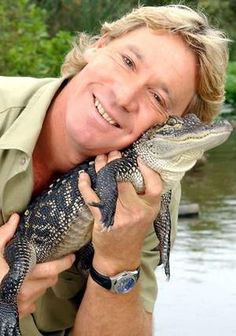Steve Irwin - I bet he has some great stories.  Crocodiles not allowed!