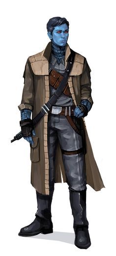 Chiss Smuggler by Will Nunes