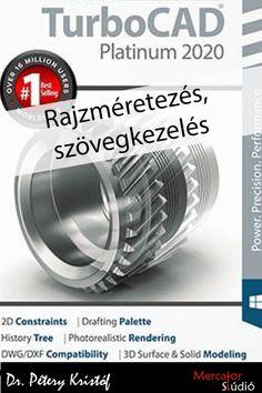turbocad_platinum_2020_rajzmeretezes_szovegkezeles Photorealistic Rendering, Autocad, Surface, Palette, Books, Palette Table, Livros, Pallets, Book