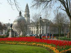 Gorsedd Gardens, Cardiff City Hall