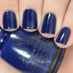 China Glaze One Track Mind | Fall 2014 All Aboard Collection | Peachy Polish