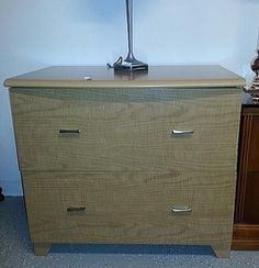 This short yet long dresser has very large and deep drawers which make it a perfect fit for a filing cabinet or for the use of storing bulky items. Visit our website for details and pricing.