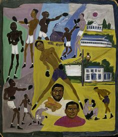 Boxers by William H. Johnson / American Art