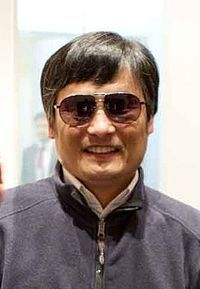 Chen Guangcheng - blind, self-taught Chinese lawyer organized class-action lawsuit against excessive enforcement of the one-child policy, including forced abortion and sterilization