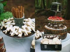 Food: Axe and Owl Cookies  {via Ruffled}