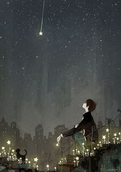 Find images and videos about boy, art and anime on We Heart It - the app to get lost in what you love. Art And Illustration, Estilo Anime, Anime Scenery, Noragami, Hayao Miyazaki, Amazing Art, Line Art, Fantasy Art, Cool Art