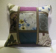 patchwork pillow cushion cover home decor modern decoration sofa throw mod 25 #patchwork