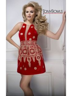 Tony Bowls TS21608 | Find this 2016 Homecoming dress at www.henris.com