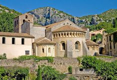 Saint Guilhem le Désert is a eautiful village nestled in a a small canyon not far from the town called Montpellier in the languedoc region