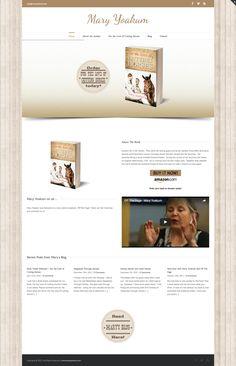 www.MaryYoakum.com Cutting Horses, Portfolio Website, Web Design, Books, Livros, Design Web, Livres, Book, Reining Horses