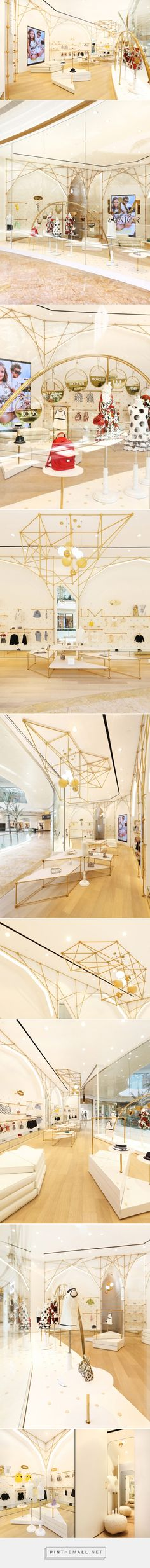 UM Junior Top Kid's Wear Multibrand Store by AS Design at Sands Cotai Central, Macau – China »  Retail Design Blog - created via https://pinthemall.net