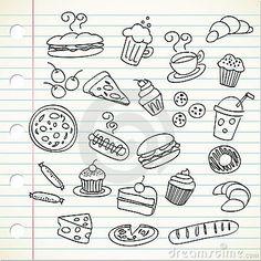Food doodles | FollowPics