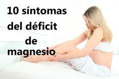 10 síntomas de deficiencia de magnesio que afectan la salud