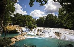 Cascadas de Agua Azul. © Chiapas