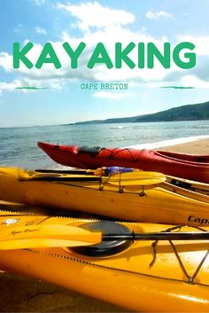 Great post about why you should add kayaking to your Cape Breton itinerary!