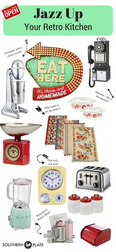 6 Outstanding Clever Tips: Vintage Home Decor Farmhouse Beautiful vintage home decor kitchen cutting boards.French Vintage Home Decor Shabby Chic vintage home decor gothic living rooms.Vintage Home Decor Cottages French Country. Retro Kitchen Decor, Kitchen Decor Themes, Retro Home Decor, Unique Home Decor, Interior Design Kitchen, Vintage Kitchen, Kitchen Ideas, 50s Diner Kitchen, Retro Vintage