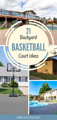 While some backyard basketball court ideas may be out of your budget, for every expensive idea, there are several low-cost or DIY options that can be equally functional and just as fun. Outdoor Yard Games, Outdoor Play Areas, Backyard Games, Backyard Projects, Outdoor Fun, Backyard Ideas, Diy Projects, Outdoor Projects, Outdoor Ideas