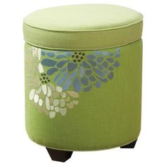 cute ottoman with storage