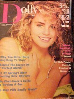 Dolly magazine -September 1984 Retro Toys, Nicole Kidman, My Childhood, 1980s, Magazine Covers, Nostalgia, Magazines, September, Journals
