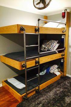 Wohnwagen, 3 Etagenbetten, Etagenzimmer, Billige Etagenbetten, Etagenbetten  In Voller Größe, Hochbetten