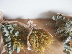 dryflower ドライフラワー ミモザのスワッグ|FLEURI blog